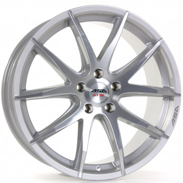 Tec Speedwheels GT3 silver polished