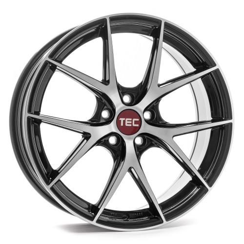 tec speedwheels gt6 evo felgen black polished schwarz in. Black Bedroom Furniture Sets. Home Design Ideas