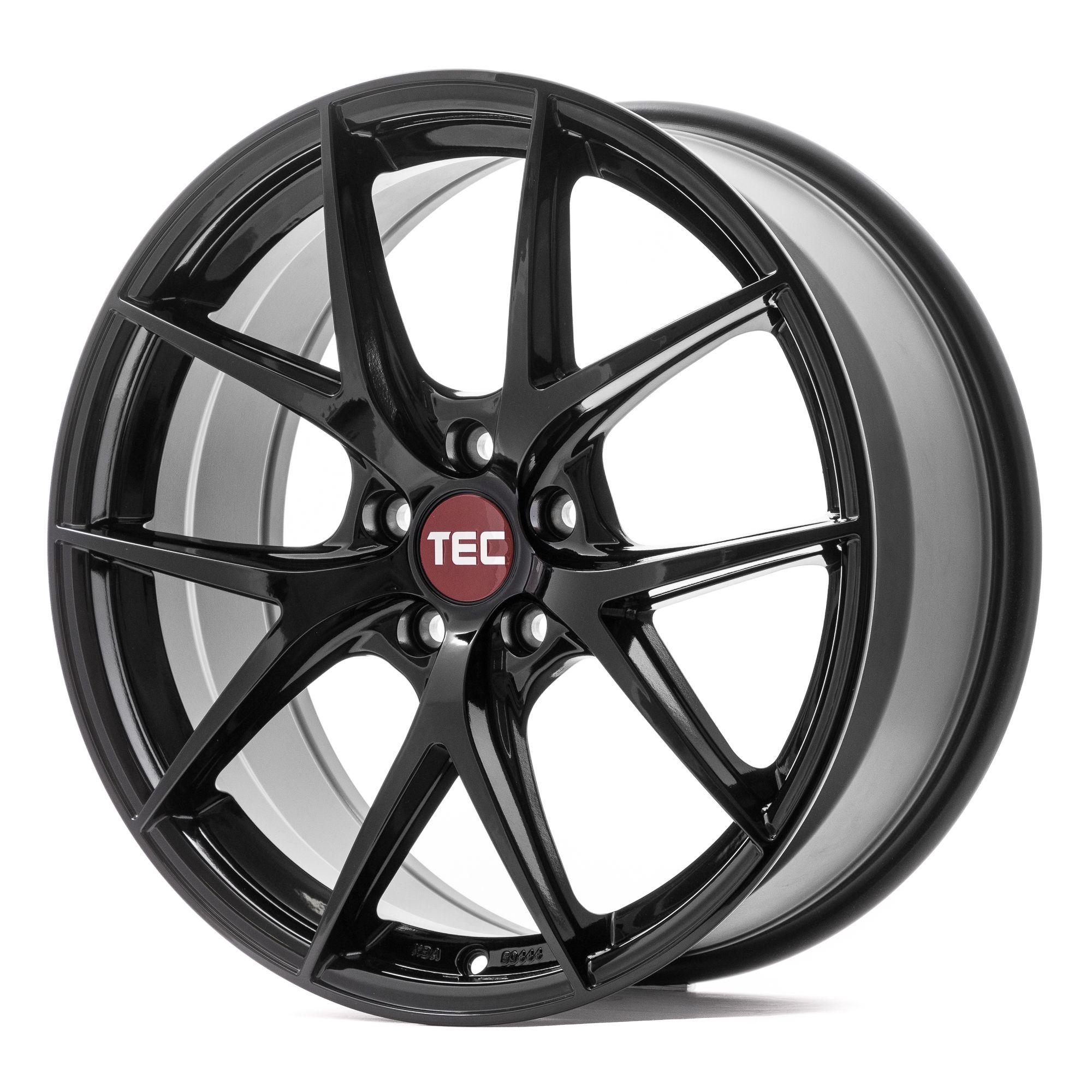 tec speedwheels gt6 evo felgen black glossy schwarz in. Black Bedroom Furniture Sets. Home Design Ideas