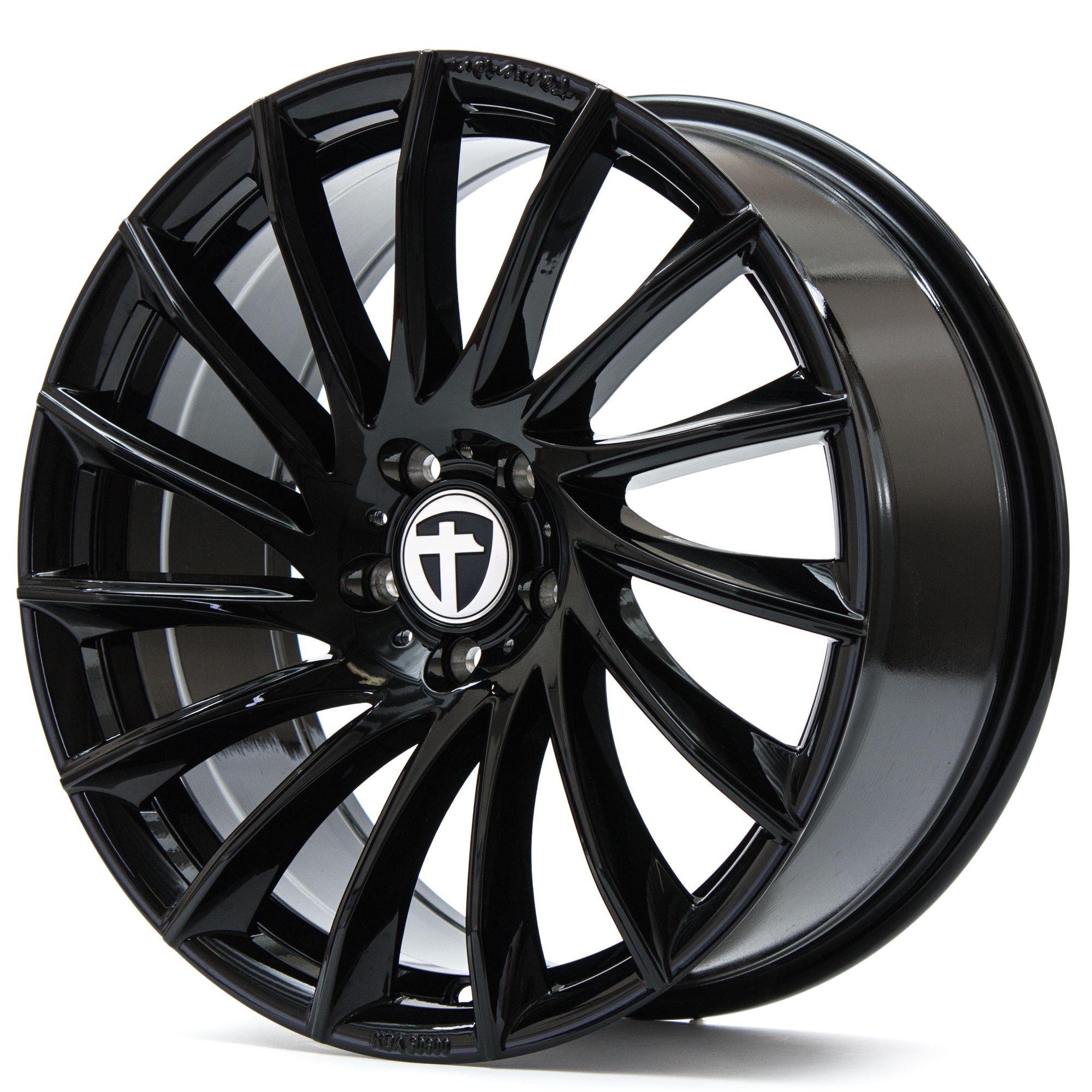 tomason tn16 felgen black painted schwarz in 17 zoll. Black Bedroom Furniture Sets. Home Design Ideas