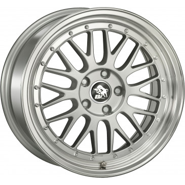 Ultrawheels UA3 silver / lip polished