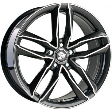 Ultrawheels UA6 Gunmetal polished