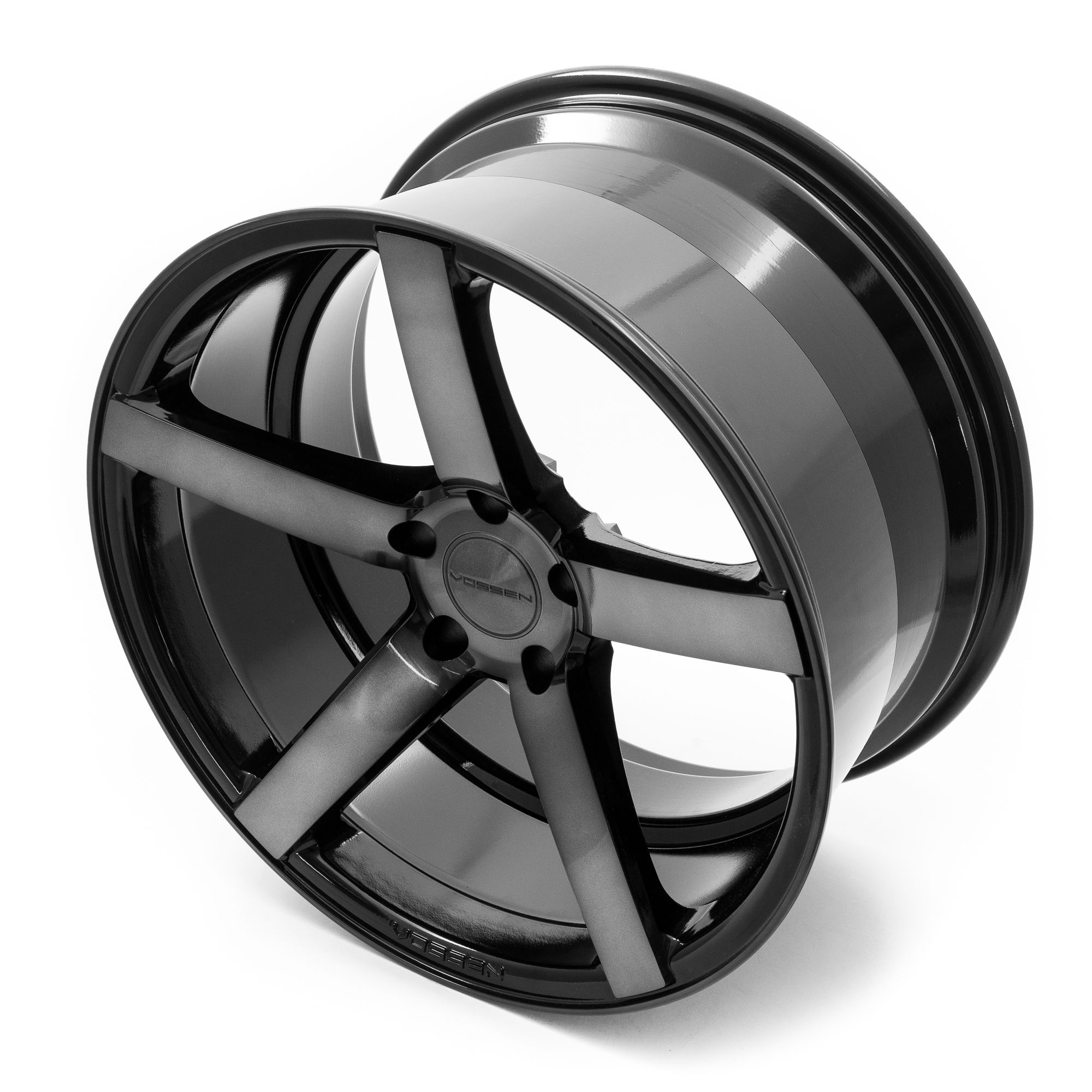 vossen cv3r deep face felgen graphit grau in 22 zoll. Black Bedroom Furniture Sets. Home Design Ideas