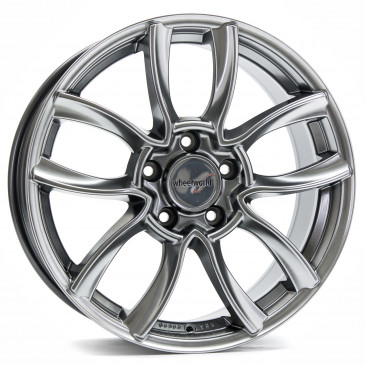 WHEELWORLD WH14 Anthrazit Effectglanz
